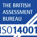 The British Assessment Bureau - ISO 14001 logo