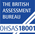The British Assessment Bureau - OHSAS 18001 logo