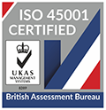 The British Assessment Bureau - ISO 45001 logo